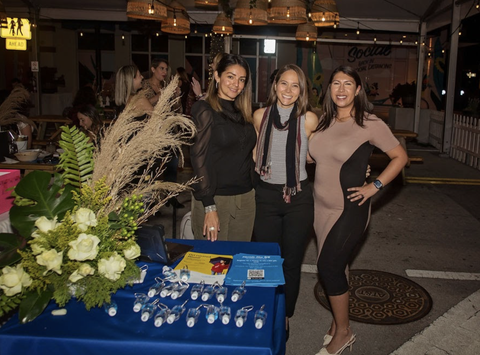March Moms' Night Out at the Doral Yard: Event Recap Miami Mom Collective Florida Blue