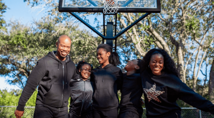 Sharonda and her family (Tourney Time: Are You Ready for the Dance? Sharonda Stewart Contributor Miami Mom Collective)