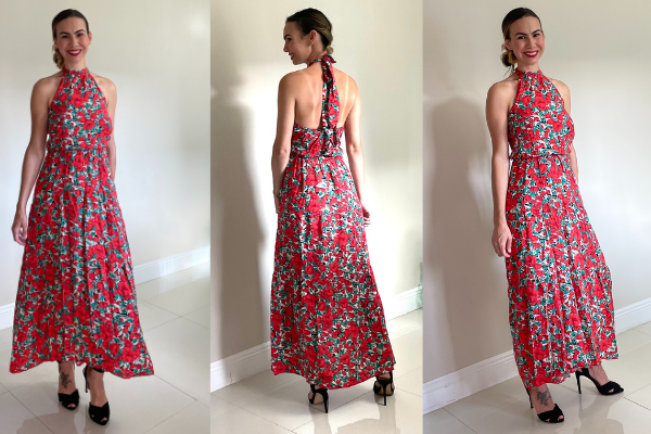 A red floral dress for wedding season (What to Wear, Amazon Edition: Wedding and Graduation Season Jessica Socarras Contributor Miami Mom Collective)