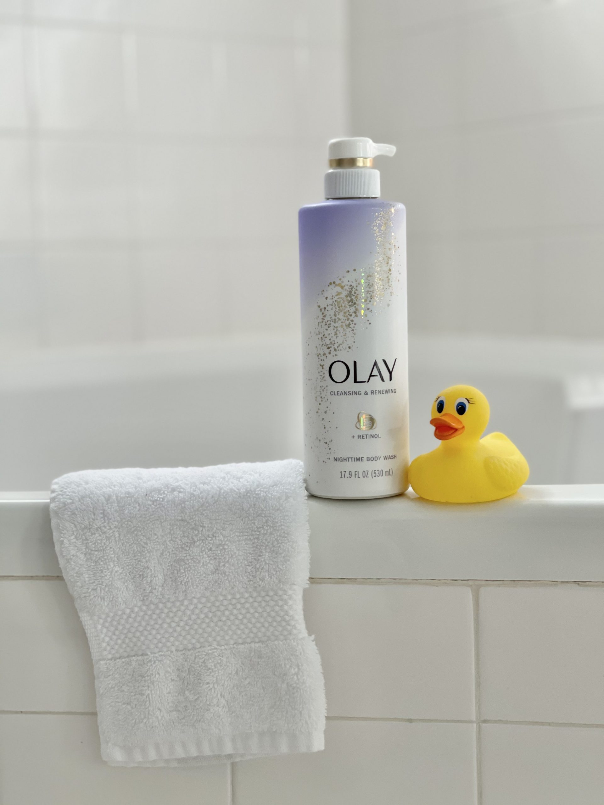 Refresh Your Health and Beauty Routine for Spring | Spend Less with P&G and Publix Becky Salgado Miami Mom Collective Olay retinol wash