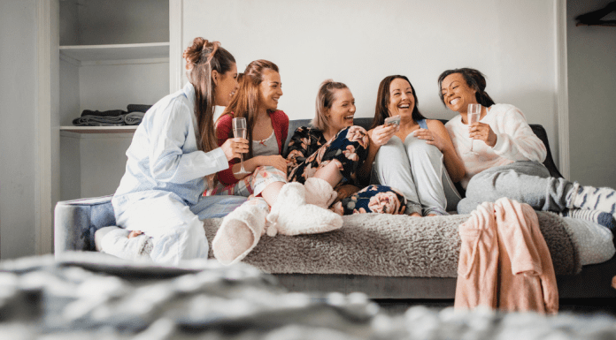 A group of mom friends hanging out (It Takes a Village: A Single Mom's Perspective of Making It All Happen Adita Lang Contributor Miami Mom Collective)