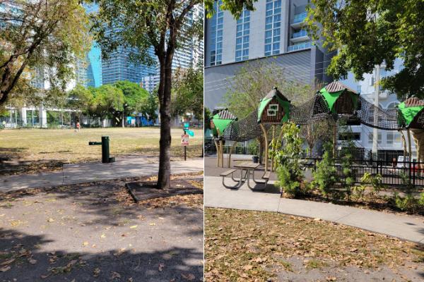 Parks in Brickell (Love Where You Live: Brickell & Downtown Miami Minerva Roca Contributor Miami Mom Collective)