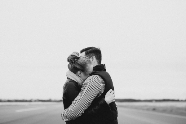 Image: A couple embracing each other (Lorena Lougedo Contributor Miami Mom Collective)