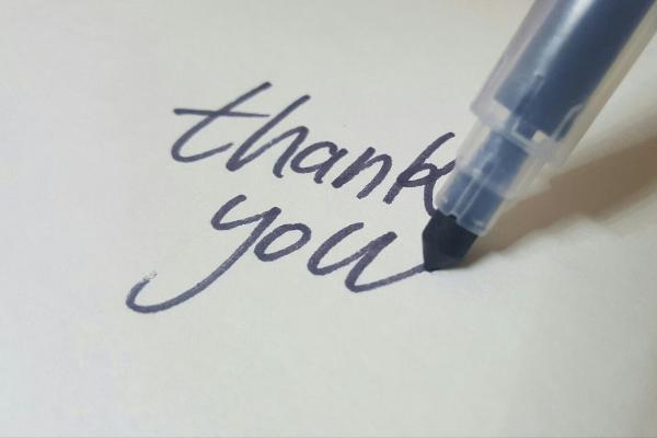 A thank you note (Teacher Appreciation Week: Let's Show Appreciation Lorena Lougedo Contributor Miami Mom Collective)