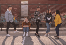 A group of teens talking (National Teen Self-Esteem Month: Ways to Build Your Teen's Self-Esteem Becky Gonzalez Contributor Miami Mom Collective)