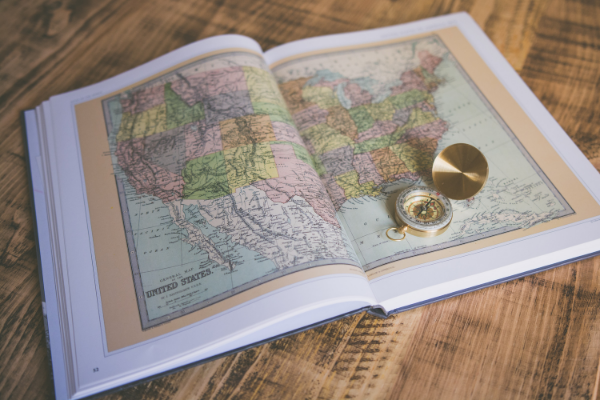 A map of the US (Summer Road Trips: Adventure Awaits You This Summer Jessica Alvarez-Ducos Contributor Miami Mom Collective)