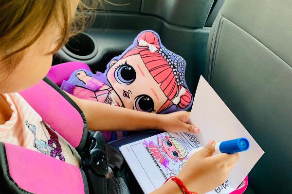 Jessica's daughter enjoying some new toys (Jessica Alvarez-Ducos Contributor Miami Mom Collective)