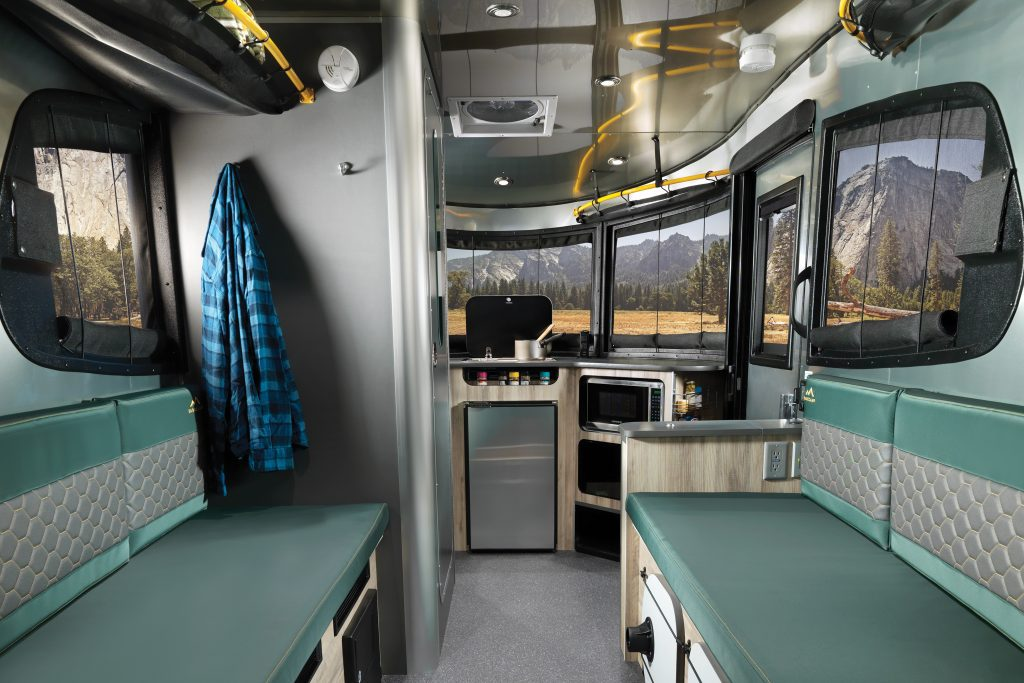 The inside of an RV (Janeris Marte Contributor Miami Mom Collective)