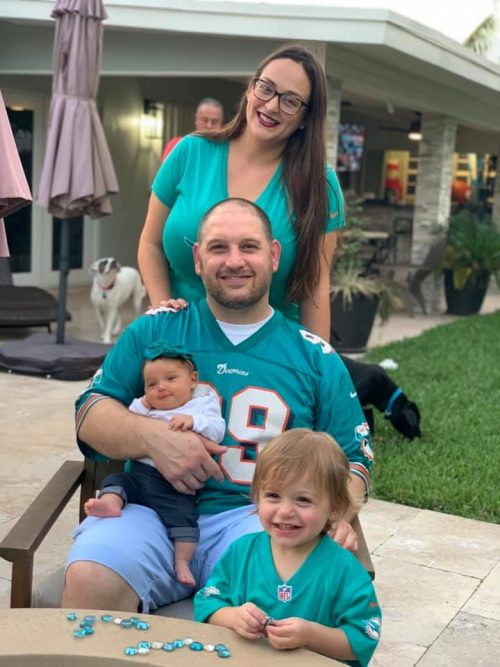 Alisa with her family (Wisdom and Reflections on Motherhood by 3 Generations of Miami Moms Alisa Britton Contributor Miami Mom Collective)