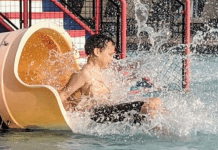 Going down a water slide (Summer Is Almost Here! Are You Ready?   Dr. Bob Pediatric Dentist Lynda Lantz Contributor Miami Mom Collective)