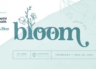 bloom miami mom collective virtual the doral yard baptist health south Florida