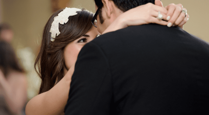 Becky and her husband dancing on their wedding day (10 Things I've Learned in My 10 Years of Marriage Becky Salgado Contributor Miami Mom Collective)
