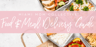 Miami Mom Collective Meal Delivery guide