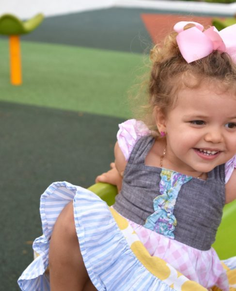 Dianna's daughter smiling (Positive Affirmations for Toddlers and Preschool ChildrenDianna Hill Contributor Miami Mom Collective)