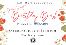 Miami Mom Collective 3rd Birthday Bash at The Berry Farm