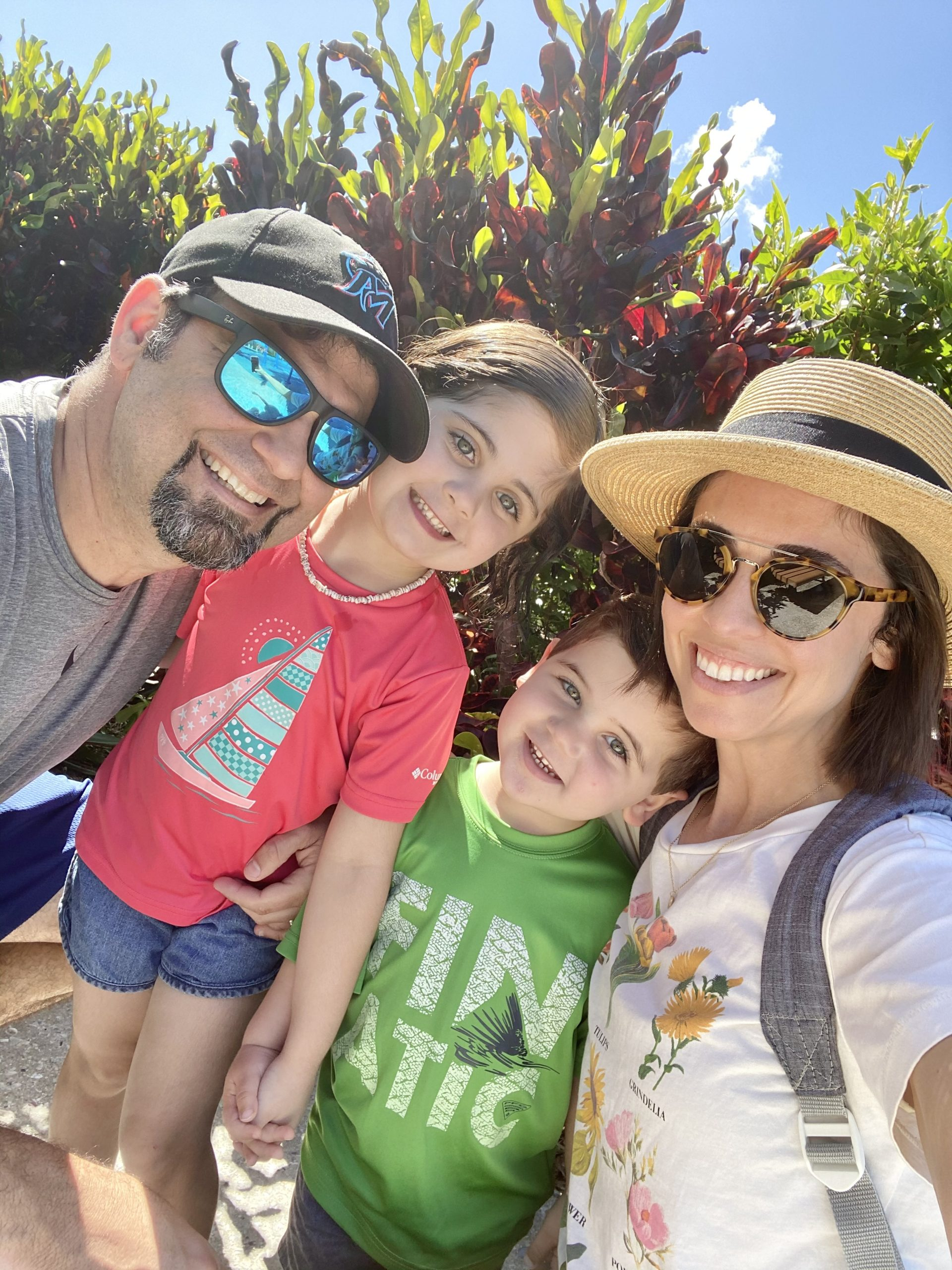 Becky and her family (10 Things I've Learned in My 10 Years of Marriage Becky Salgado Contributor Miami Mom Collective)