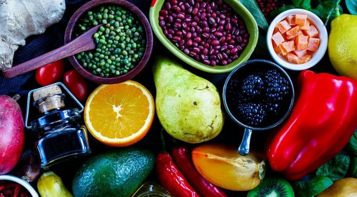 A variety of superfoods (Your Skin: 7 Foods That Improve It From The Inside Out Candice Carricarte Contributor Miami Mom Collective)