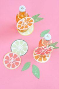 Paper citrus fruit slices (Aymee Blanco Contributor Miami Mom Collective)