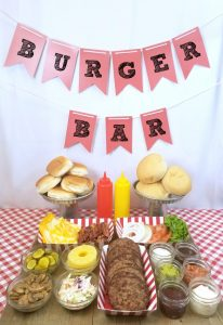 An example of a burger bar (Aymee Blanco Contributor Miami Mom Collective)