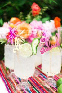 Fiesta themed drinks (Aymee Blanco Contributor Miami Mom Collective)
