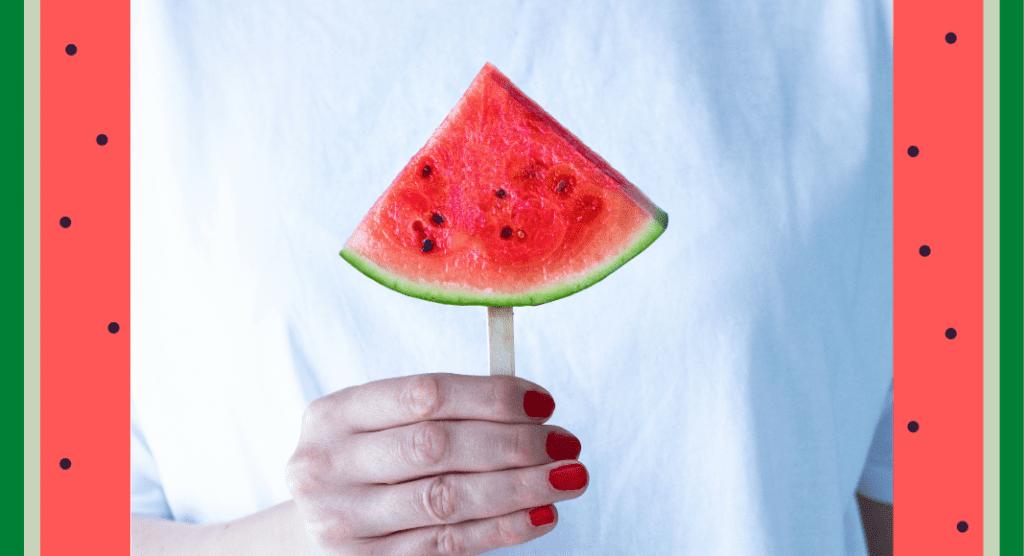 A frozen watermelon pop (Watermelon Pops: Real Fruit Frozen Treats Your Kids Will Love Dina Garcia Contributor Miami Mom Collective)