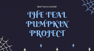 Image: Boo! You're invited! The Teal Pumpkin Project (Allergy-Friendly Halloween: Tricks and Treats Monica Moreno Contributor Miami Mom Collective)