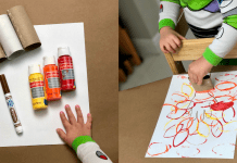 An easy leaf craft for kids (Fall Crafts: 3 Easy Activities to Kick Off the Season With Your Little Ones Jessica Socarras Contributor Miami Mom Collective)