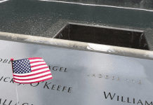 A list of names engraved at the September 11th Memorial (Remembering September 11th Becky Gonzalez Contributor Miami Mom Collective)