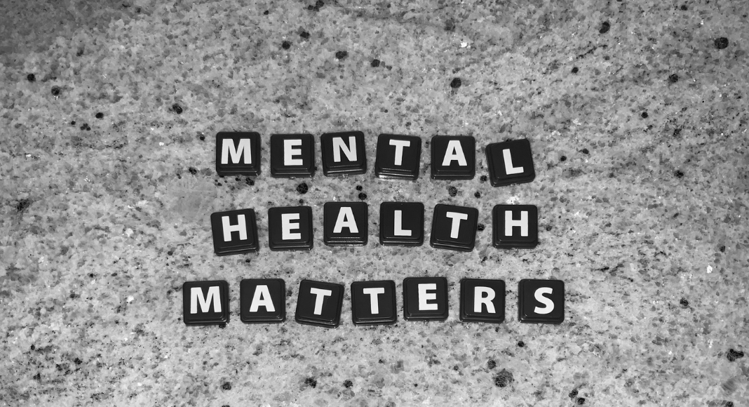 """Image: Letter tiles that read """"Mental Health Matters"""" (Mental Illness Awareness Week: Breaking the Stigma Becky Gonzalez Contributor Miami Mom Collective)"""