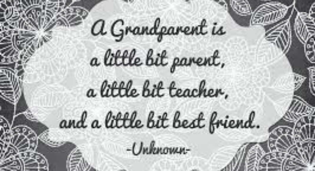 A quote about being a grandparent (Grandparents Day 2021: Becoming a Grandparent Is a Special Gift Holly Farver Contributor Miami Mom Collective)