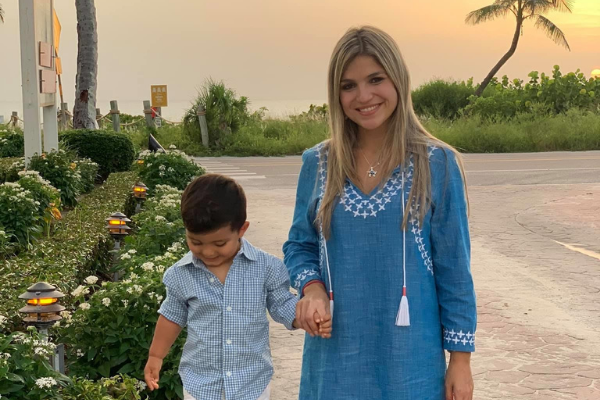 Image: Bella and her son at sunset on Captiva Island ((Fall Getaways: 6 Destinations to Visit This Year Bella Behar Contributor Miami Mom Collective)