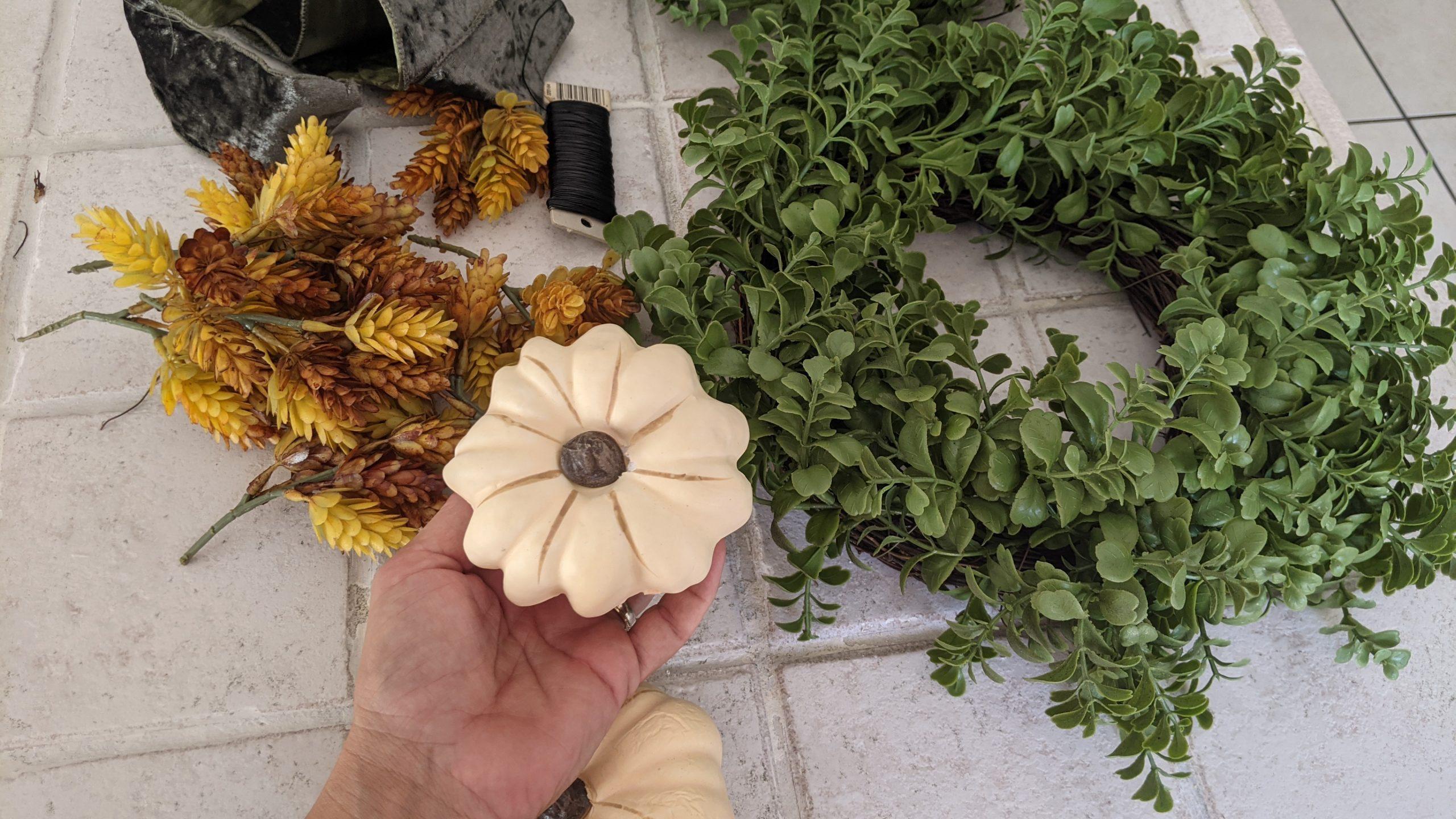 Image: More fall wreath supplies (Rachel Hulsund Contributor Miami Mom Collective)